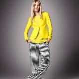 żółta bluzka H&M - wiosna/lato 2012