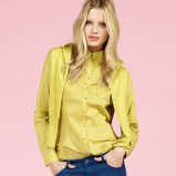 żółta koszula Reserved - trendy wiosenne