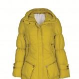 żółta kurtka Troll - moda 2011/2012