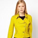 żółta ramoneska Asos - moda na wiosnę