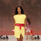 żółta sukienka C&A - moda wiosna/lato