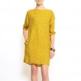 żółta sukienka Mango - lato 2011