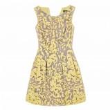 żółta sukienka Pretty Girl we wzorki - kolekcja na lato