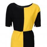 żółta sukienka Simple - moda jesień/zima 2010