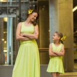 żółta sukienka SmallBig
