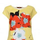 żółta sukienka Solar w kwiaty - lato 2013