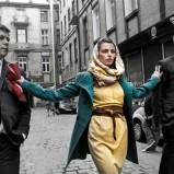 żółta sukienka Top Secret - trendy wiosenne