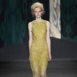 żółta sukienka Vera Wang - kolekcja wiosenna