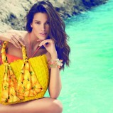 żółta torba plażowa Carpisa - kolekcja letnia 2013