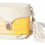 żółta torebka Mohito - z kolekcji wiosna-lato 2012