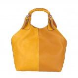 żółta torebka Pretty Girl - moda wiosna/lato
