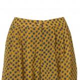 żółte bermudy Topshop w kropki - kolekcja wiosenna