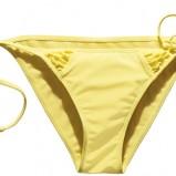 żółte bikini H&M - lato 2011
