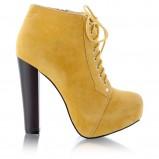 żółte botki DeeZee - wiosna/lato 2012