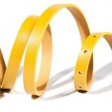 żółty pasek Reserved - z kolekcji wiosna-lato 2012
