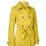 żółty płaszczyk Jackpot - wiosna/lato 2012
