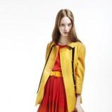żółty płaszczyk Topshop - trendy na jesień-zimę
