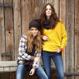 żółty sweter Big Star - kolekcja jesienna