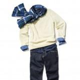 żółty sweter Reserved - wiosna-lato 2011