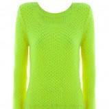 żółty sweter Tally Weijl - jesień/zima 2012/2013