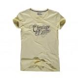 żółty t-shirt Big Star z nadrukiem - letnia kolekcja