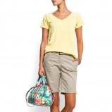 żółty t-shirt Mango - kolekcja wiosenno/letnia