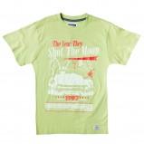 żółty t-shirt z nadrukiem - wiosna/lato 2012