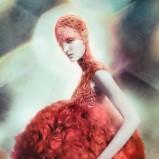 Zuzanna Bijoch - Alexander McQueen wiosna/lato 2012