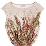 zwiewna bluzeczka Bialcon w kolorze beżowym - wiosna 2013