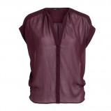 zwiewna bluzeczka Lindex w kolorze bordowym - kolekcja damska