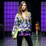 zwiewna kolorowa koszula C&A - moda 2013
