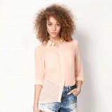 zwiewna koszula Bershka - trendy na wiosnę i lato 2013