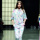 zwiewna koszula C&A w kwiaty - moda 2013