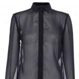 zwiewna koszula Top Secret w kolorze czarnym - jesień i zima 2013/14