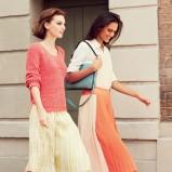 zwiewna spódniczka Max&Co w kolorze żółtym - lato 2013