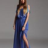 zwiewna spódniczka Top Secret w kolorze kobaltowym - trendy na wiosnę i lato 2013