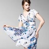 zwiewna sukienka Benetton - wiosna 2013