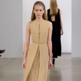 zwiewna sukienka Calvin Klein w kolorze brązowym - zima 2013/14
