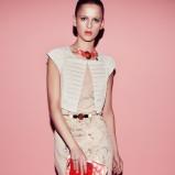zwiewna sukienka Patrizia Pepe - wiosna i lato 2013
