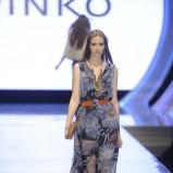 zwiewna sukienka Pinko - lato 2013
