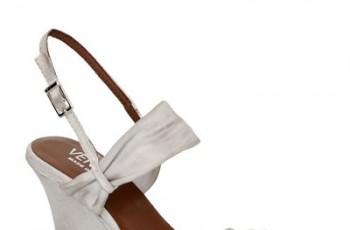 Białe buty Venezia dla kobiet - sezon wiosna/lato 2012
