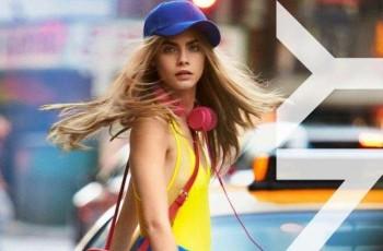 Cara Delevingne w kampanii DKNY