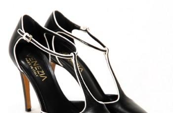 Czarne obuwie Venezia - trendy wiosna/lato 2011
