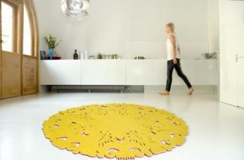 Designerskie dywany do wnętrz