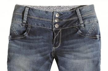 Dżinsy z prostymi nogawkami