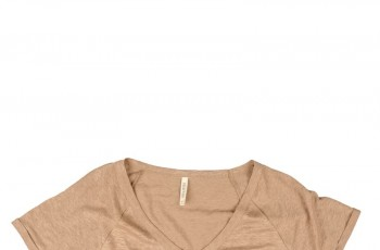 Gładkie t-shirty na lato 2012