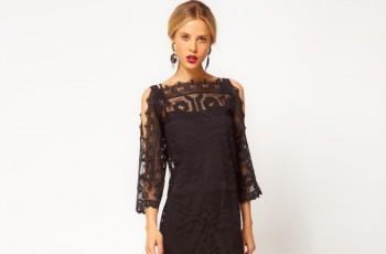 Klasyczna czerń - wieczorowe sukienki 2013