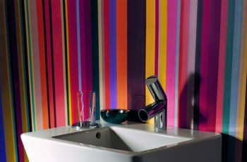 Kolorowe łazienki Laufen