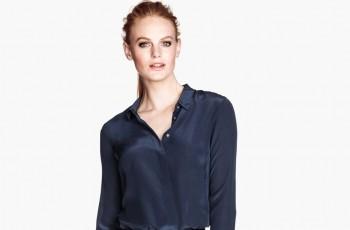 Koszule i bluzki H&M na jesień i zimę 2013/14