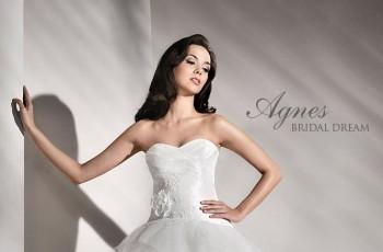 Krótkie suknie ślubne z trenem